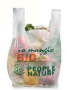 Sacchetto biodegradabile e compostabile