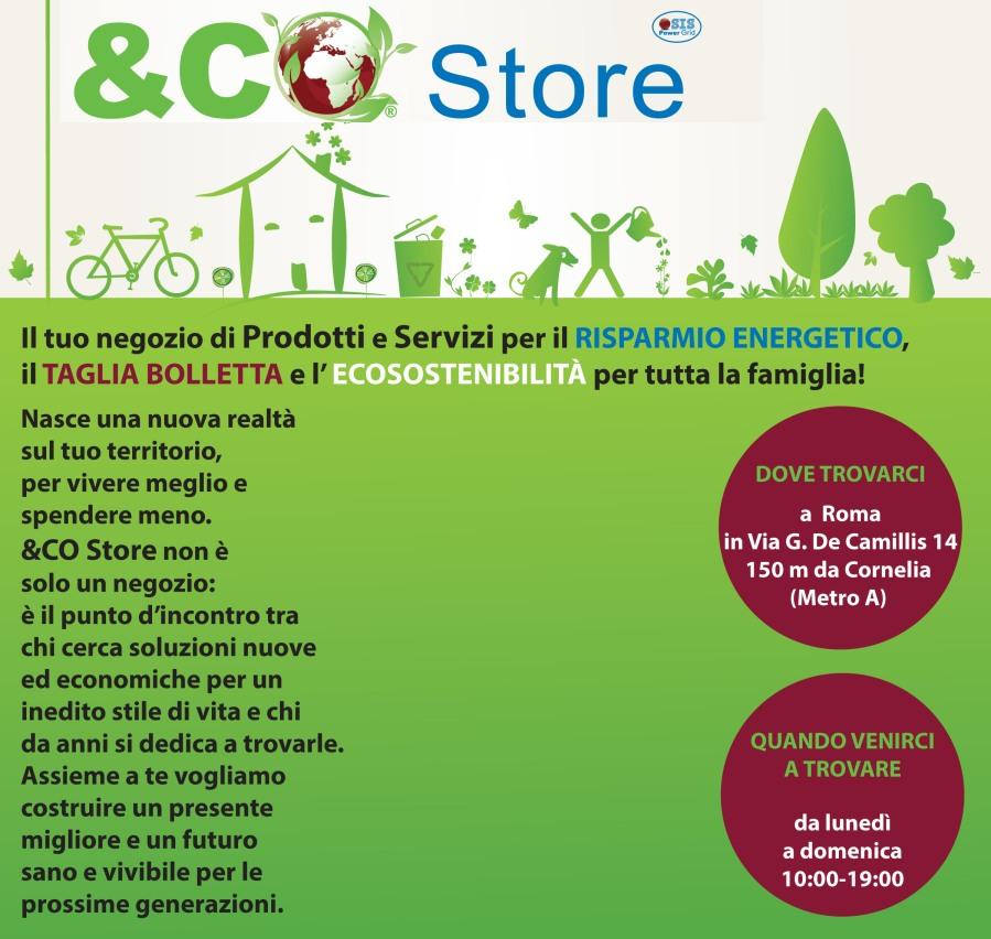 Invito Inaugurazione Eco Store