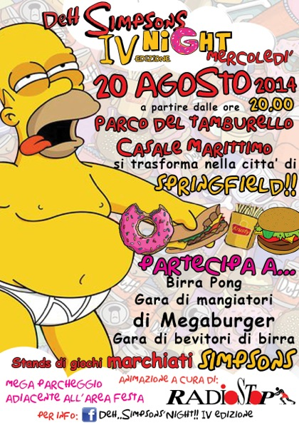 de simpson night