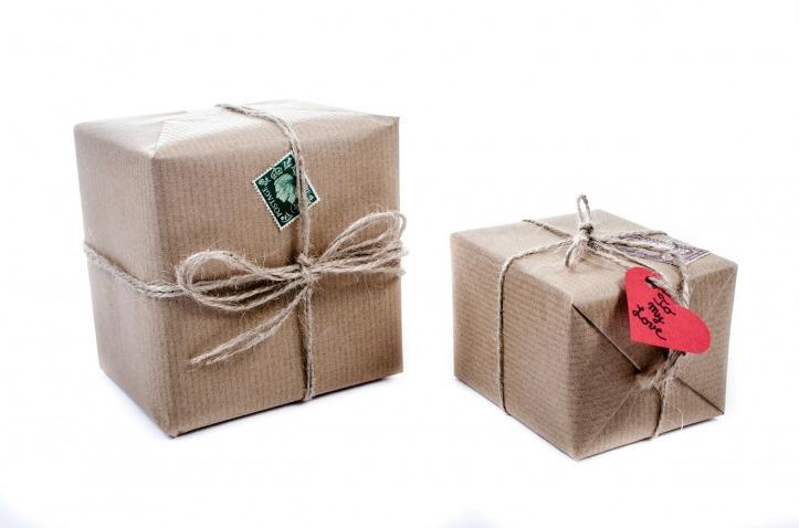 pacchetti di carta Natale